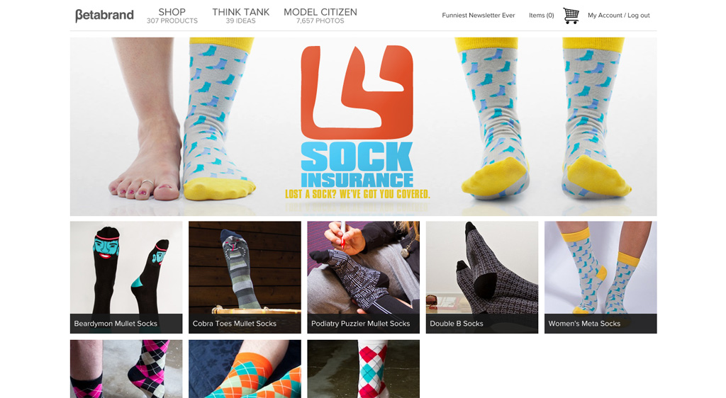 Betabrand: Sock Insurance