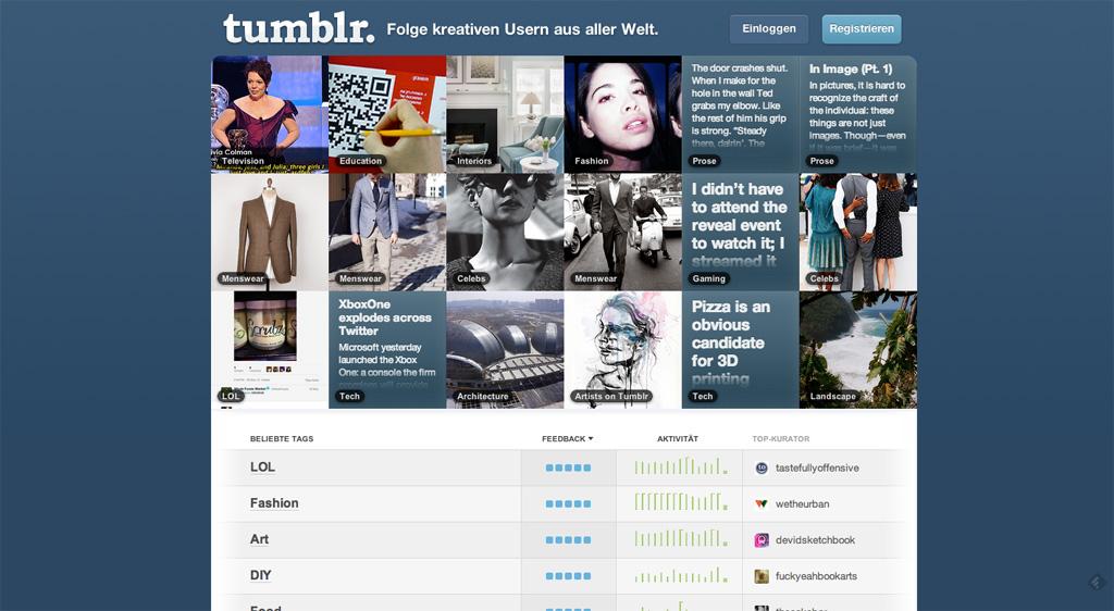 Explore Tumblr