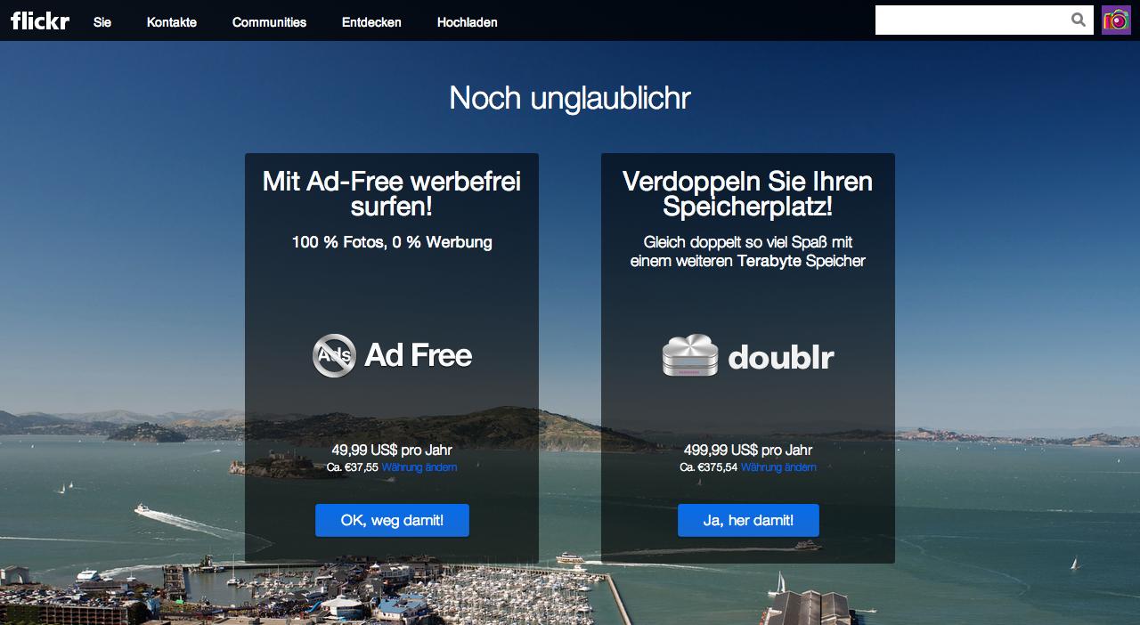 Flickr Website Upgrade