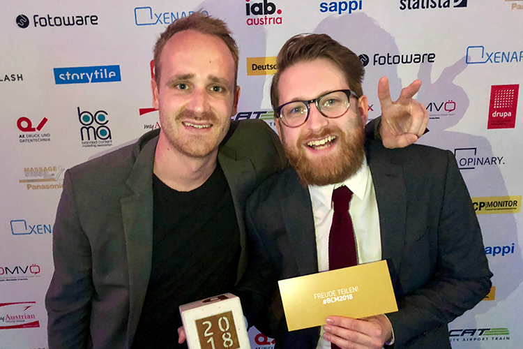 BCM-Award: Content Garden holt Gold in Kategorie Innovation